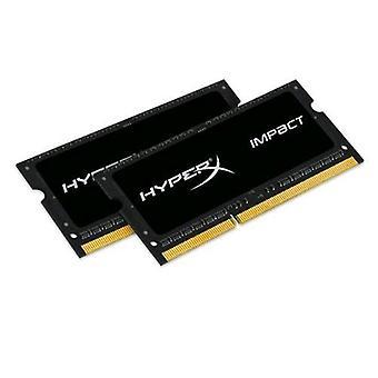 Kingston hyperx impact 16gb kit (2 x 8gb) 1600mhz ddr3l so-dimm