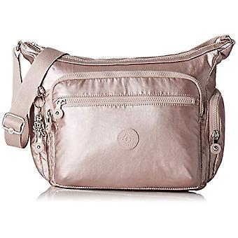 Kipling Cages - Women Pink Shoulder Bags (Metallic Rose) 35.5x30x18.5 cm (B x H T)