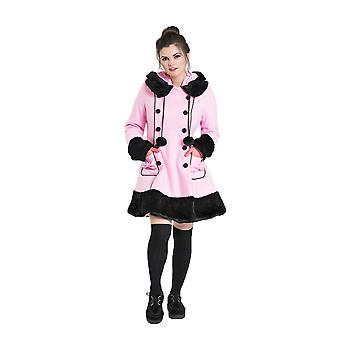 Hell Bunny Pink Sarah Jane Coat M