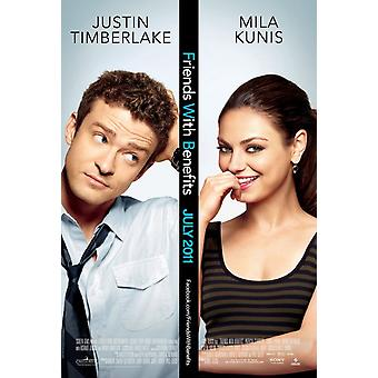 Friends With Benefits Poster Double Sided Regular (2011) Original Cinema Poster