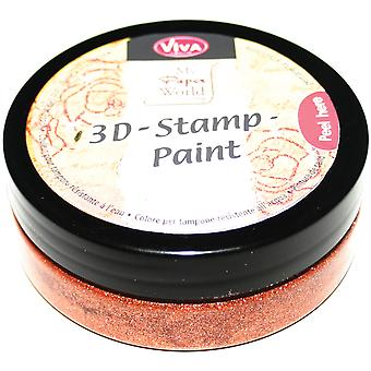 3D Stamp Paint 50Ml Copper 3Dstamp 90436