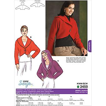 Jackets  Misses' Xs  S  M  L  Xl Pattern K3459