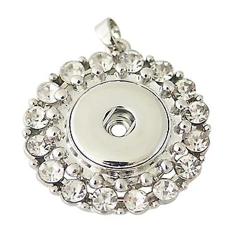 Stainless steel pendant for click buttons KB0270