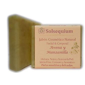 Solsequium Oatmeal Handmade Soap And Camomile 85 Gr