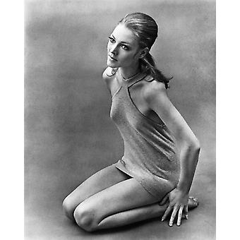 Джоанна Петтет Ca конце 1960-х фото печать