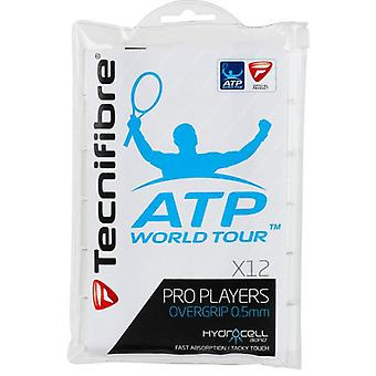 Tecnifibre Pro Players Overgrip 12er Pack weiss