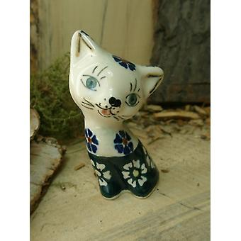 Cat, 8.5 cm, tradition 21, 2nd choice, Bunzlau pottery, B.S.N, 5747