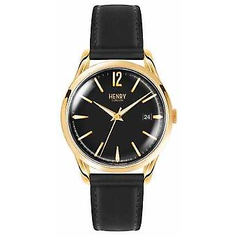 Henry London Unisex sort Westminster HL39-S-0176 Watch