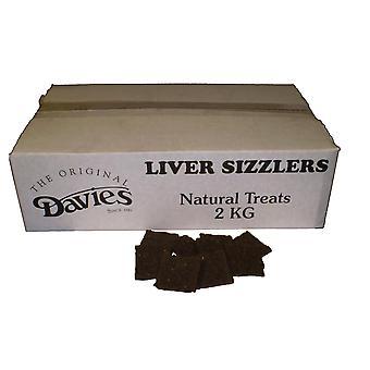 Davies sej lever Sizzlers 2kg