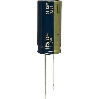 Electrolytic capacitor Radial lead 7.5 mm 1500 µF