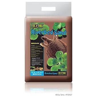 Exo Terra EXO TERRA RIVER SAND IN RED 4.5 kg (Reptiles , Beds and Hammocks)