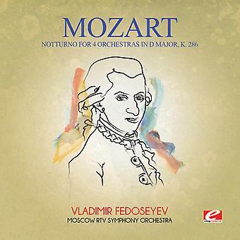Mozart - Notturno na 4 orkiestr w D głównych K. 286 USA import