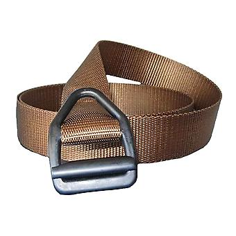 Bison Designs Last Chance LT Duty Gunmetal Buckle Belt - Coyote Brown