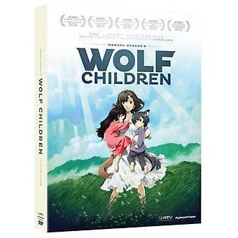 Wolf Children [DVD] USA import