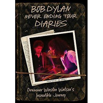 Bob Dylan - Never Ending Tourdiaries: Drummer Winston Watson's [DVD] USA import
