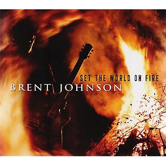 Brent Johnson - sætte verden på brand [CD] USA import