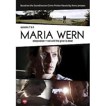 Maria Wern: Episoder 8 & 9 [DVD] USA importerer