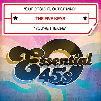 Five Keys - Out of Sight Out of Mind/You're the One [CD] USA import