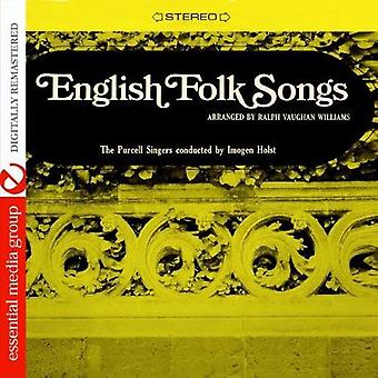 Purcell Singers - English Folk Songs [CD] USA import