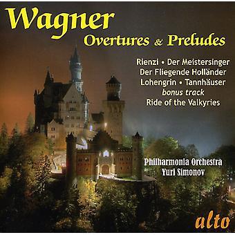 R. Wagner - Wagner: Favorit tilnærmelser & Præludier [CD] USA import