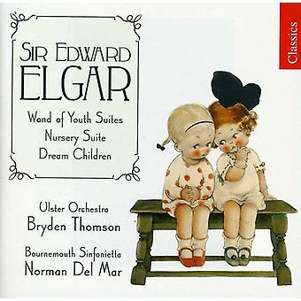 E. Elgar - Elgar: Bacchetta di gioventù Suites; Suite di vivaio; Importazione di sogno bambini [CD] Stati Uniti d'America