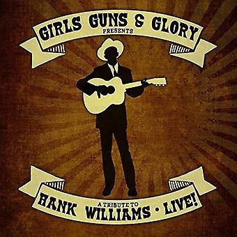Piger kanoner & herlighed - hyldest til Hank Williams Live [CD] USA import