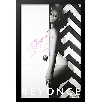 Beyonce Signed Poster