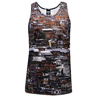 Crooks & Castles Favelas Knit Tank Top Multi