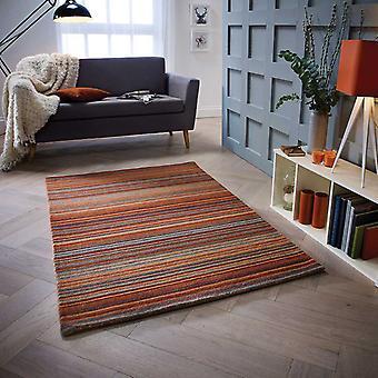 Alfombras Carter moho rectángulo alfombras llano casi llanos