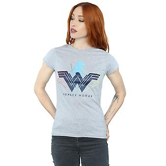 DC Comics Women's Wonder Woman Warrior Logo T-Shirt