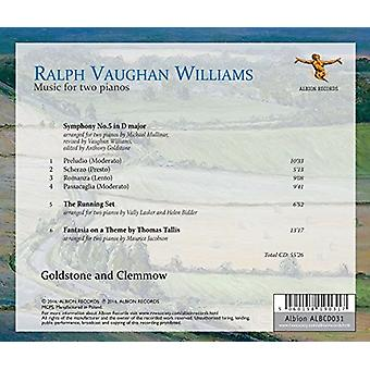 Williams / Clemmow - Williams: musik for to klaverer [CD] USA import