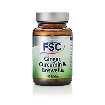 FSC Ginger curcumine & wierrook, 60 tabletten