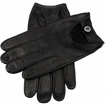 Dents Woburn Hairsheep Leather Gloves - Black/Black