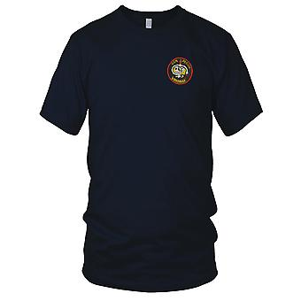 CCN Recon Team RT VIRGINIA - US Army MACV-SOG Special Forces - Vietnam War Embroidered Patch - Mens T Shirt