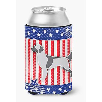 Carolines Treasures  BB3281CC USA Patriotic English Setter Can or Bottle Hugger
