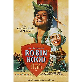 The Adventures of Robin Hood Movie Poster (11 x 17)