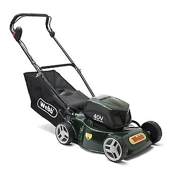 Webb WER16LIHP 16inch Cordless Rotary Mower with Battery & Charger