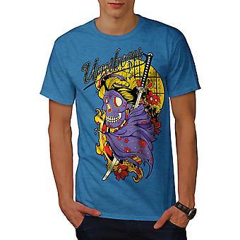 Umibozu Geist coole Männer Royal BlueT-Hemd   Wellcoda