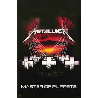 Metallica - Master of Puppets Poster Print