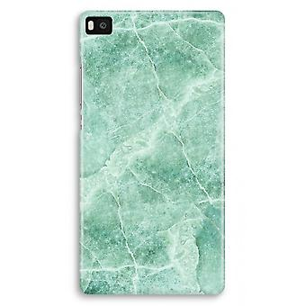Huawei Ascend P8 Full Print Case - Green marble