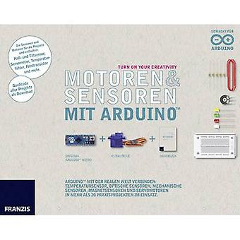 Course material Franzis Verlag Motoren & Sensoren mit Arduino 978-3-645-65360-2 14 years and over