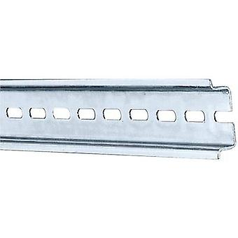 Din rail perforated Steel plate 387 mm Rittal SZ T