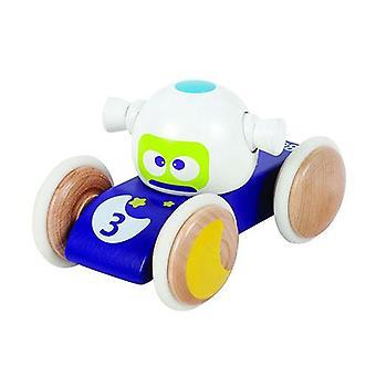 BOIKIDO Luna véhicule en bois pousser le long de la Space Toy pour 18 m +