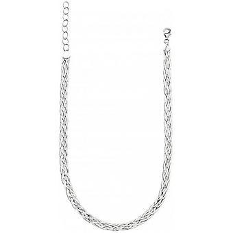 Beginnings Treccia Weave Necklace - Silver