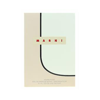 Marni Marni Rose Eau de Parfum Spray 4.1Oz/120ml New In Box