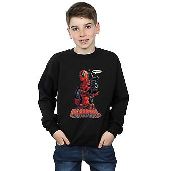 Marvel drenge Deadpool Hey du Sweatshirt