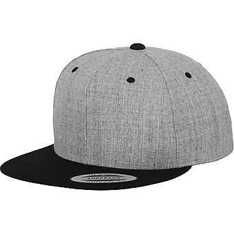 Flexfit by Yupoong Mens Classic 2-Tone Premium Wool Snapback Cap