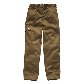 Dickies Mens Redhawk Super Workwear Trousers Khaki WD884K