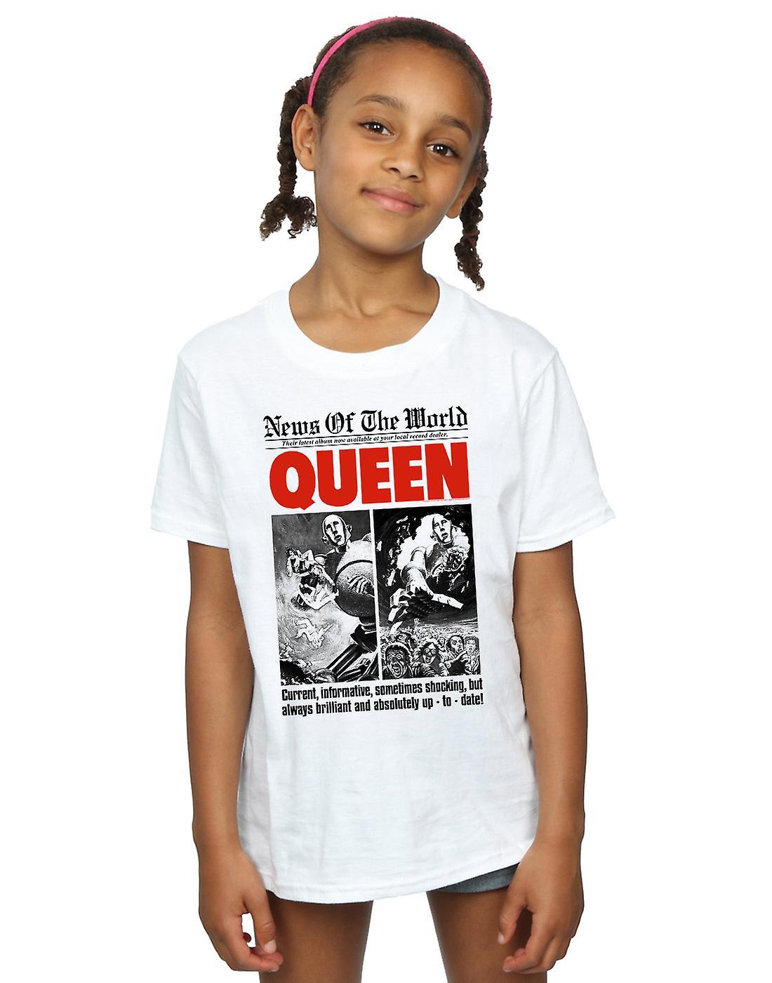 Reina chicas corriente informativo t-shirt