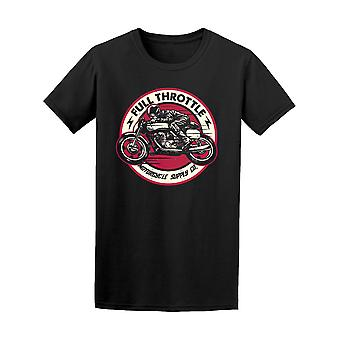 Classic Cafe Racer Motorcycle Tee Men's -Image by Shutterstock